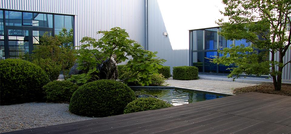 Moderne Garten Mit Bambus ~ Möbel Ideen & Innenarchitektur