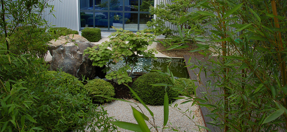 Moderner Japanischer Garten Th Ringen Deutschland
